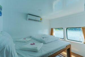 ダイブクルーズ船 サンパオトン9の客室