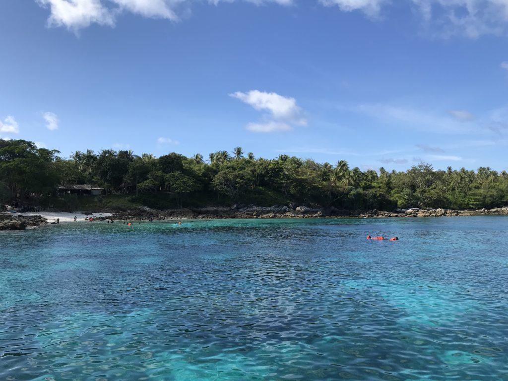 プーケットのダイビングショップ ラチャヤイ島