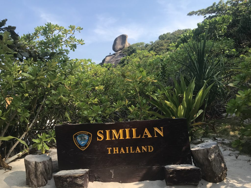 シミラン諸島の写真ポイント