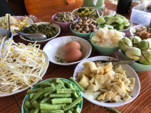 カノムチン野菜