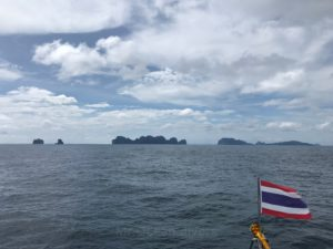 ピピ島の景観