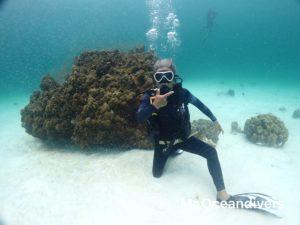 ラチャノイ島 体験ダイビング