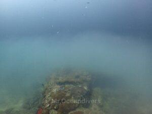 プーケットでダイビング ピピ島ビダノックのサーモクライン