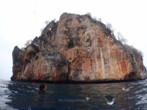 プーケット、ピピ島でダイビング ビダノック