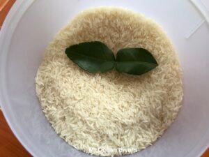 プーケットで食べるタイ米